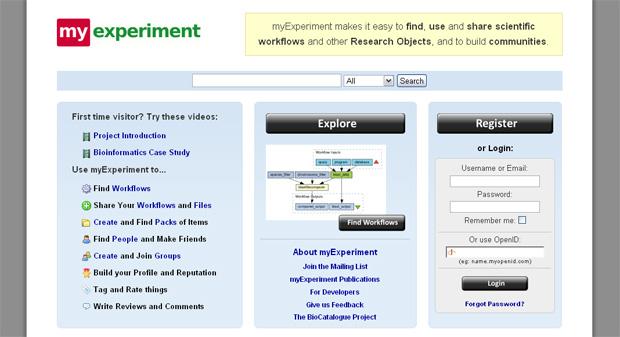 myExperiment Portal