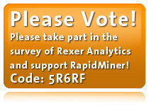 Please vote for RapidMiner